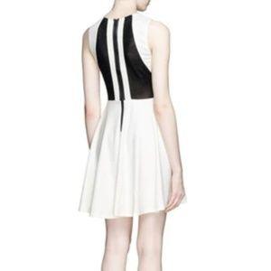NWT Alice + Olivia white and black lace dress — 4